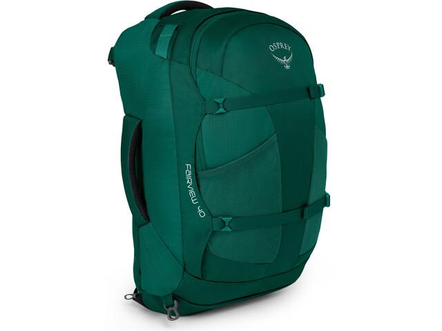 Kletterausrüstung Handgepäck : Osprey fairview 40 backpack women rainforest green campz.de